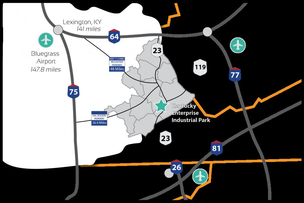 Regional Transportation Map